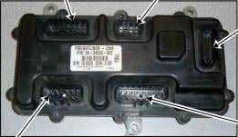 PAC15304720 23-13212-121 TERM-FEMALE,(10) PAC15326004 C5 Air Management Unit C3 Forward Chassis Harness C4 Forward