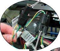 connections Cab resistor located in dash behind ICU panel Dash Tap point Illumination Circuit 29A Max