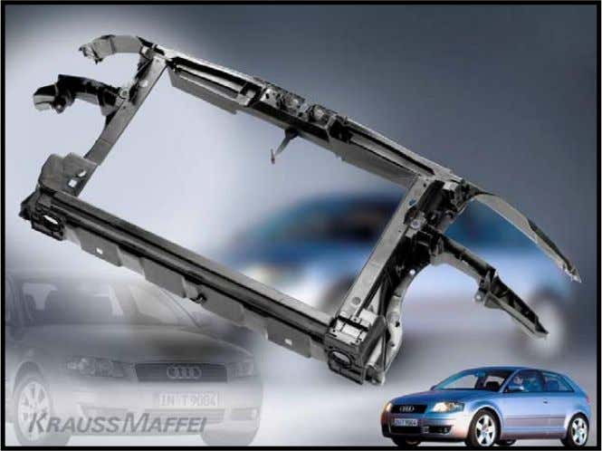 GROWTH DRIVER FOR D-LFT PROCESSES AND LGF-PP COMPOUND VEHICLE: MATERIAL: PROCESS: WEIGHT: EQUIPMENT: PHOTO: Audi