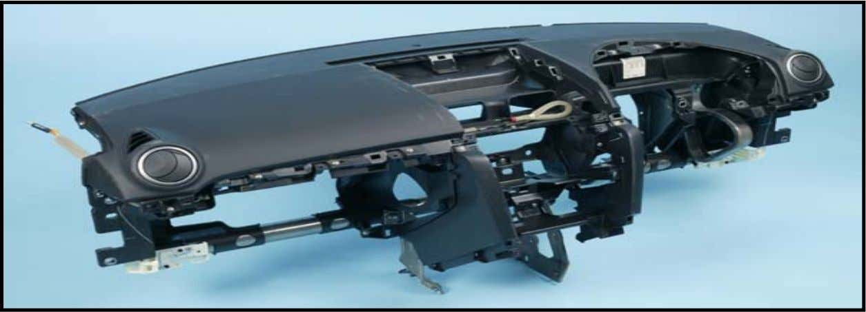 INSTRUMENT PANEL CARRIER: GROWTH TARGET • Filled and fiber-reinforced TPs compete for substrate • LGF-PP pellets