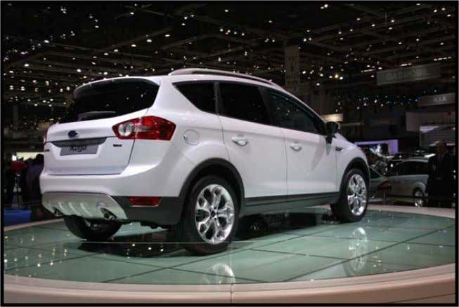 HATCHBACK DOOR INNER: GROWTH APPLICATION VEHICLE: APPLICATION: Roof spoile r and tailgate outer panel Ford Kuga