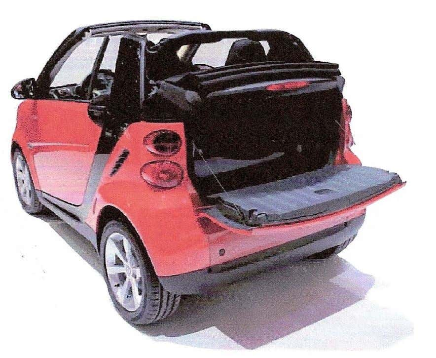 FORTWO TAILGATE: PRECURSOR FOR LGF-PP IN BODY STRUCTURES? • 20% Stiffness increase vs. earlier version •