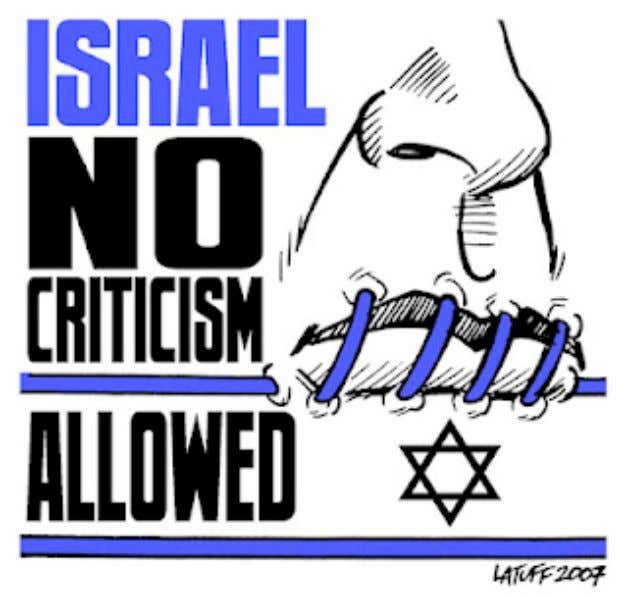 "power. Anything else just won't be deemed ""kosher."" The ""no criticism of 'Israel' allowed"""