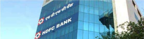 PROFILE OF HDFC BANK About HDFC BANK HDFC Bank was incorporated in August 1994, and, currently