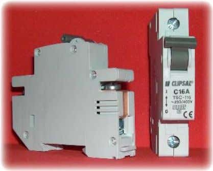 MCBs are adjustable. 1.4.7 Moulded Case Circuit Breakers Generally MCCBs are similar to MCBs but have