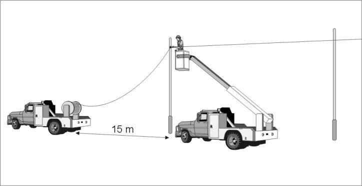 a tangent assembly on each pole as described in Section 8. Figure 11. Moving drum installation