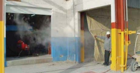 S t o r a g e 5 Application of cement-mortar coating Steam curing of cement-mortar