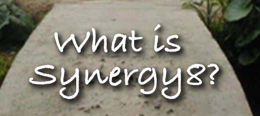 What is Synergy8?