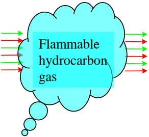 Flammable hydrocarbon gas