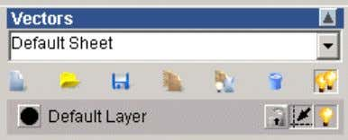 be imported into other layers. • Open the Vector Layers Vector layers are controlled by this