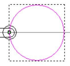 and enter 6mm . • Press Create and then Close . The smaller circle will be