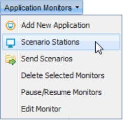 "Click on The ""Station Form"" opens; User Guide: AppsWatch at the bottom of the ""Scenario"
