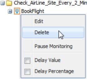 "click the Monitor to open the shortcut menu""; click ""Delete"" © 2012 NRG Global. All rights"