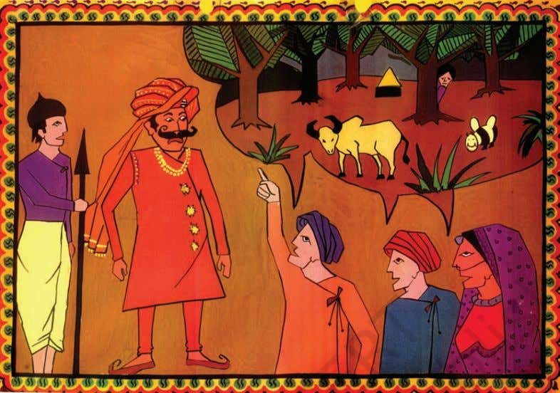 The Story of Amrita protect plants and animals. Even though in the middle of the desert,