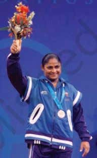weight of 130 kilograms. Karnam has won 29 medals in international events. Her four sisters also