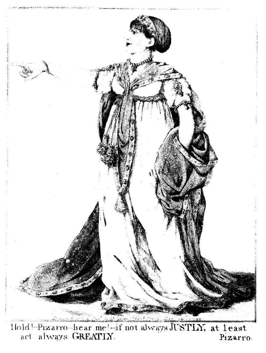 caricature, cultural politics, and the stage 631 figure 11. Robert Dighton, Sarah Siddons as Elvira (1799;