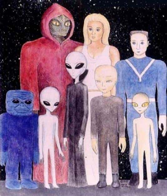 term is Aliens —non-human, non-Earth-based entities. Of course, aliens raises the hackles and blood pressure