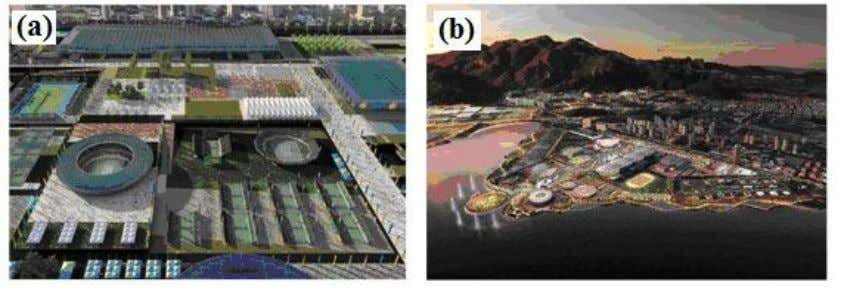 Olympic Committee Vision Model of the Rio Olympic park Figure 3: Example of Conceptual Design (a)