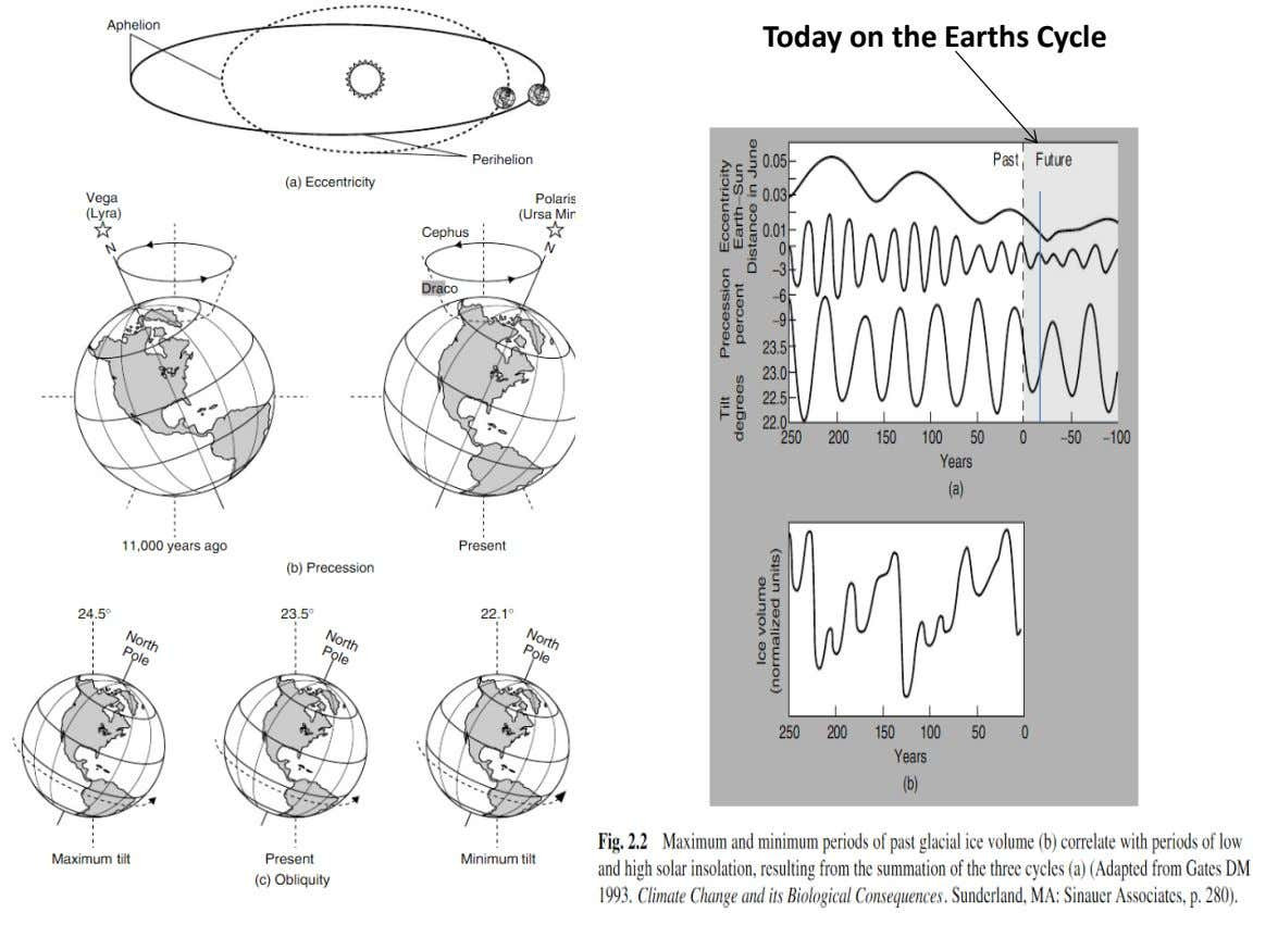 Today on the Earths Cycle