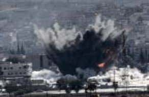 2014 deadline. United States warplanes come to aid of Kurds • United States warplanes renewed air