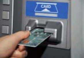 returns, he adds. ATM use over 5 timeswillattractfeenow • Using ATMs (automated teller machines) to withdraw