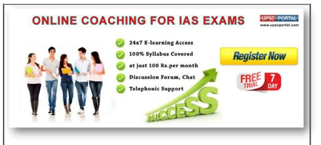 Online Course for Civil Services Preliminary Examination v Online Coaching for CSAT Paper - 1