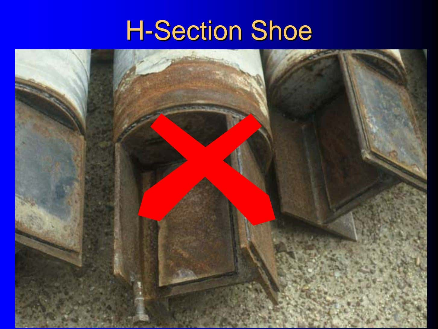 HH--SectionSection ShoeShoe