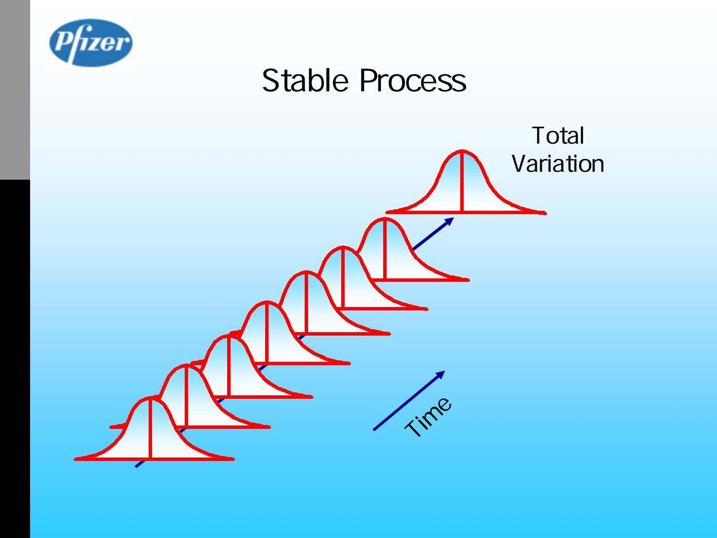Stable Process Total Variation Time