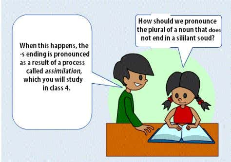 us hear the pronunciation of the plural of the nouns above. The Plural Rule is also