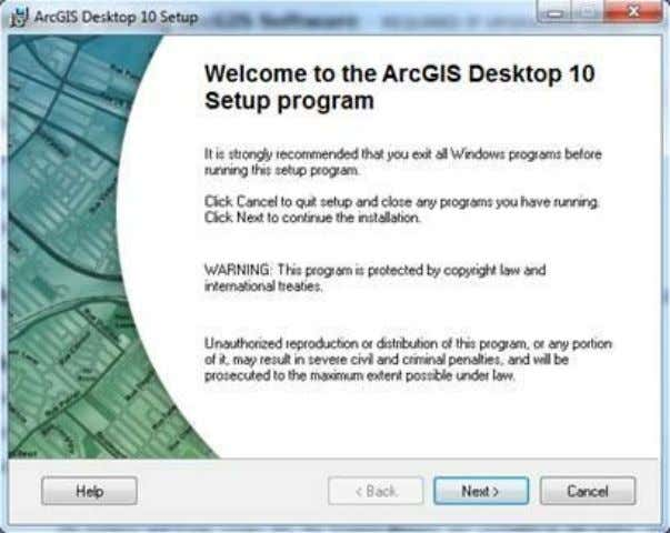 6. Authorize ArcGIS Desktop 10 single use. After the installation, select the desired Single Use product