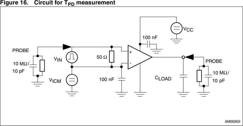 Figure 16. Circuit for T PD measurement