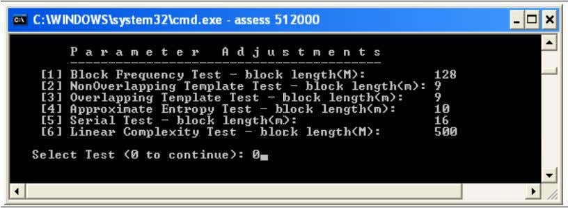 and analyzing AN4230 Figure 6. Parameter adjustment screen In this example, the default settings are kept