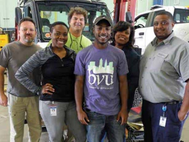"and see how it helps other departments."" C W W Fleet Fleet Services staff, interns, and"