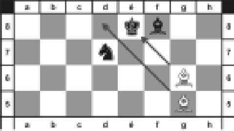 keinen Widerspruch). 12. f7 × Dé6 Dé4 × é6+!! 13. Ld3 – g6# 12 Ein anderes