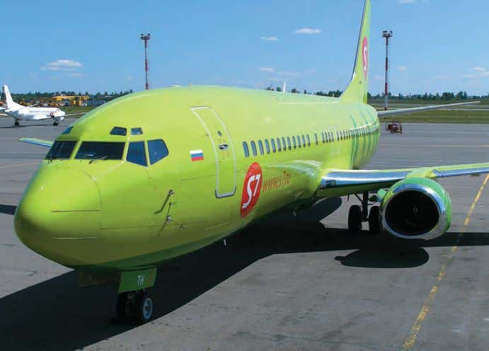 S7 Airlines, the route network of Oneworld reached 750 des- AIR FLEET · 2 · 2011