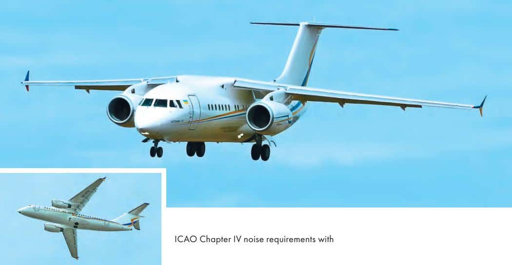ICAO Chapter IV noise requirements with a
