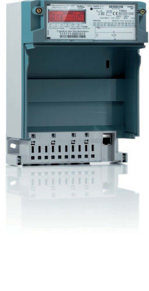 as an integral part of an Advanced Metering Solution. Base module (BM) The BM sends a