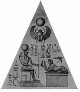 Divine. Figure 8: Ancient Egyptian BenBen Stone (Capstone) -Muata Ashby The pinnacle of the obelisk is