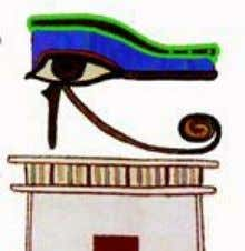to the actual history and teachings of Ancient Egypt. Figure 2: The Ancient Egyptian Eye of