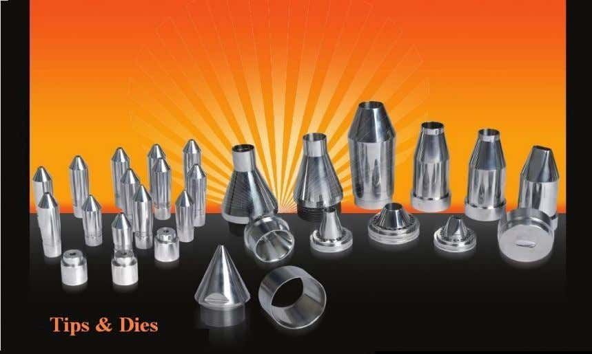 Tip & Dies Sai Extrumech Pvt. Ltd manufactures tips and dies with precision unmatched in the
