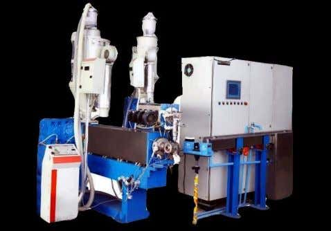 Extrusion Line We supply highly advanced range of insulation line which is used for house wiring