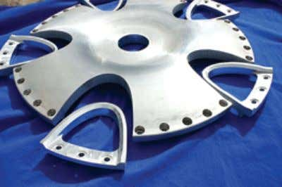 Waterjet Evolves Into Precision Alternative Abrasive Waterjet & CNC is pushing waterjet technology into areas