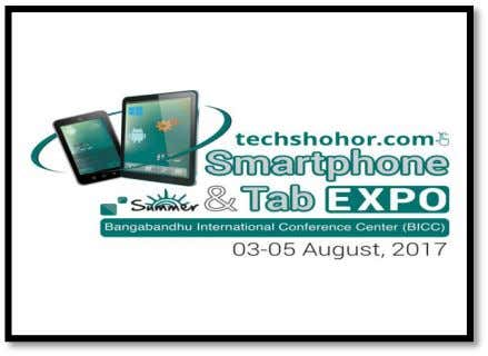 4.4 EVENT PARTICIPATED BY MARKET ACCESS PROVIDERS LIMITED Event Title: Smartphone & Tab Expo 2017 Duration:
