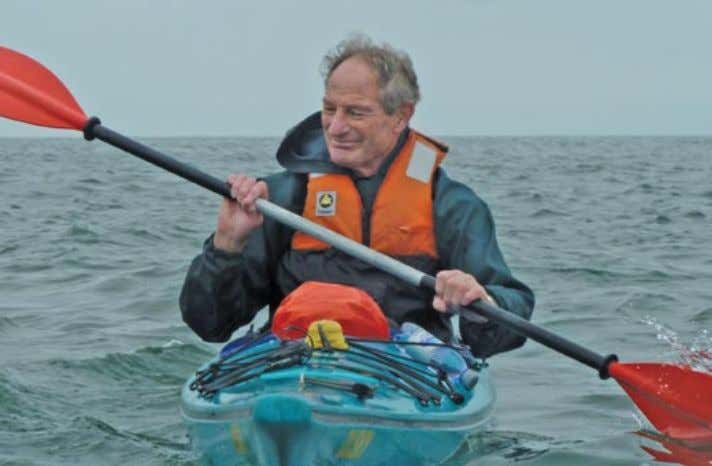 therefore every attempt has to be measured with similar care. Michael enjoying a little gentle kayaking