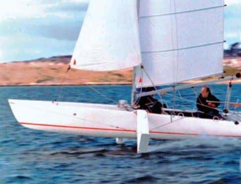 rules and supervision to every possible record under sail. The foiler Icarus on the old course