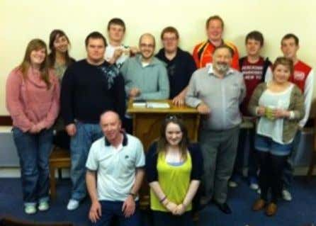 to know the young people informally and witnessing to them. Robert Peacock (Crumlin), Michael Ewart (Ballyclare)