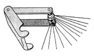wire. Figure 4-15 shows a typical set of tip cleaners. Figure 4-15. — Tip cleaners. Occasionally