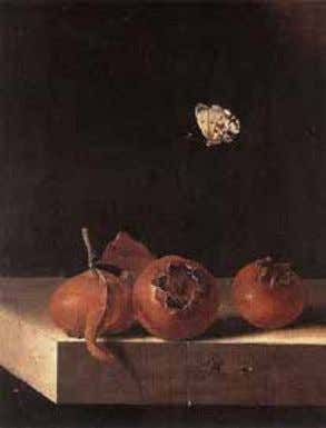 comparing Power. —Coleridge 1 The Sublime Is Suspension Fig. 1 Adriaen Coorte, Still Life with Medlars