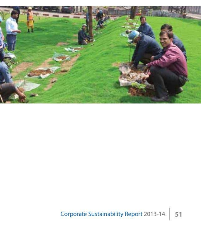 Corporate Sustainability Report 2013-14 51
