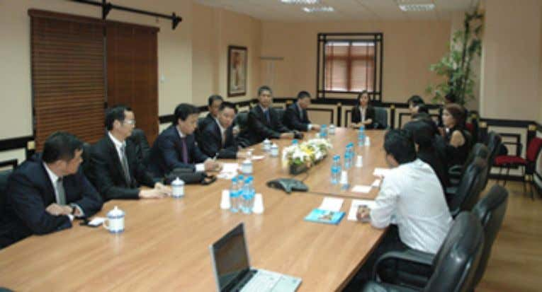 Wenzhou delegation at BOI HQ in Port Louis Mr Xianliang concluded that he will encourage